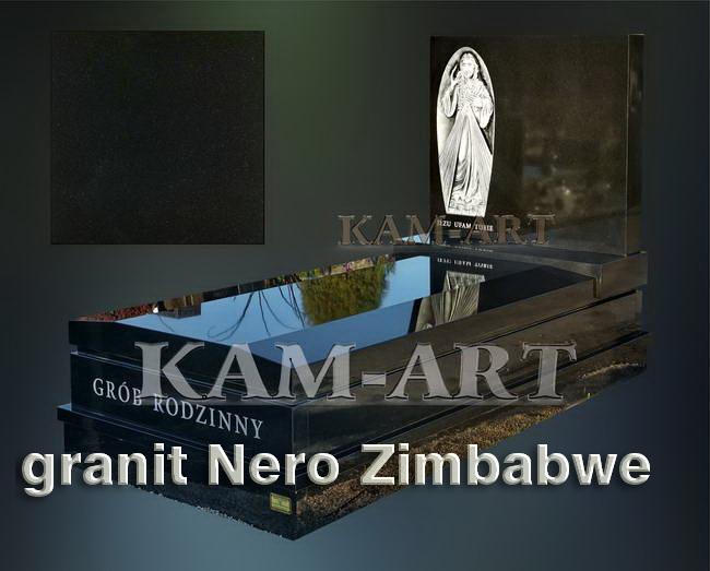 nagrobek-z-zgranitu-Nero-Zimbabwe-Kraków
