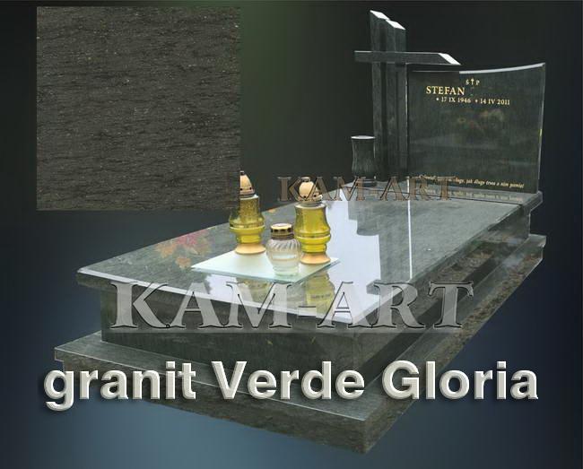 nagrobek-z-zgranitu-Verde-Gloria-Kraków