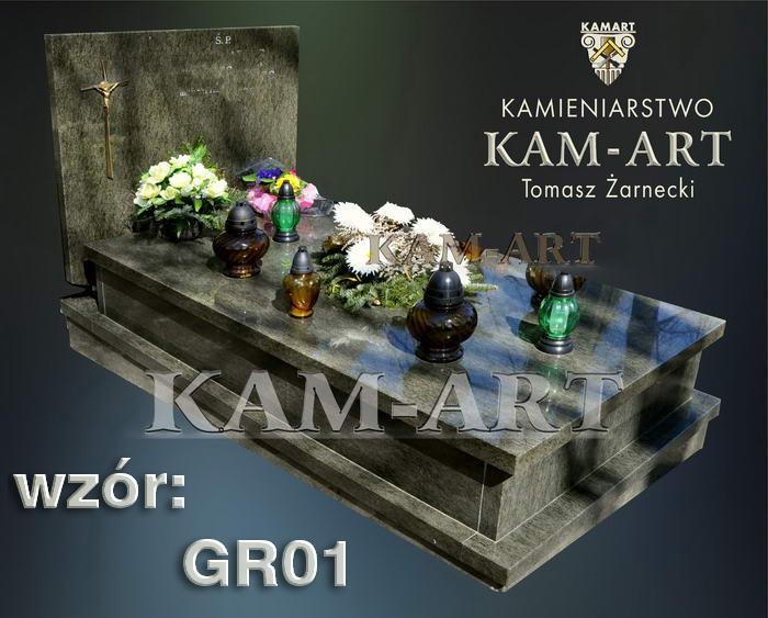 grobowiec granitowy kraków 01nagrobek na piwnicę w Krakowie