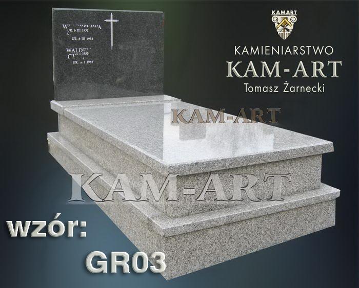 grobowiec granitowy kraków nagrobek na piwnicę w Krakowie 03