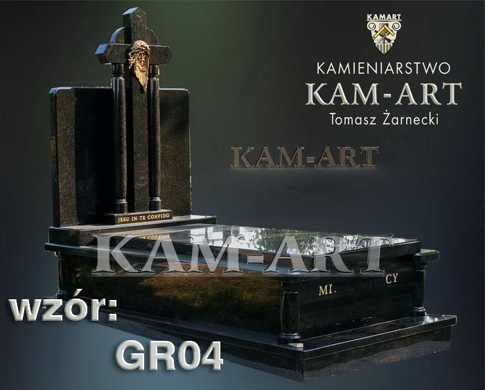 grobowiec granitowy kraków nagrobek na piwnicę w Krakowie 04