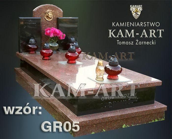 grobowiec granitowy kraków 05 nagrobek na piwnicę w Krakowie