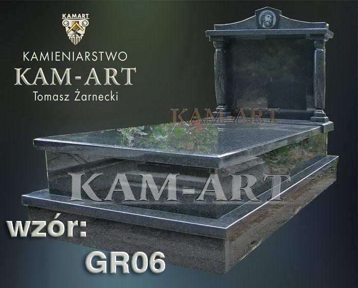grobowiec granitowy kraków nagrobek na piwnicę w Krakowie 06