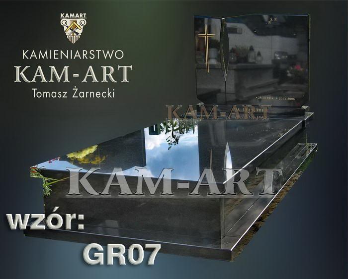 grobowiec granitowy kraków nagrobek na piwnicę w Krakowie 07