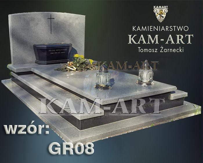 grobowiec granitowy kraków nagrobek na piwnicę w Krakowie 08