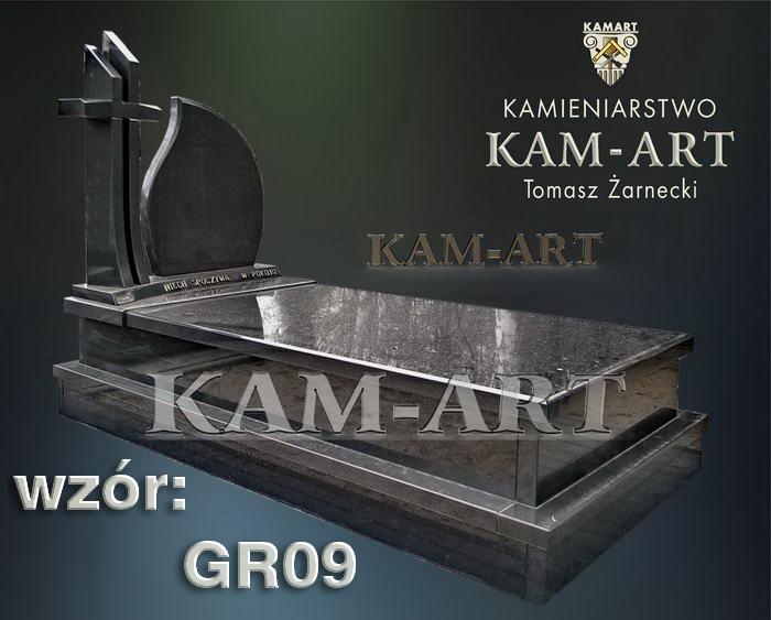 grobowiec granitowy kraków nagrobek na piwnicę w Krakowie 09