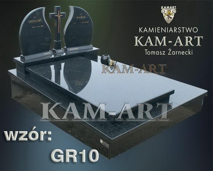 grobowiec granitowy kraków nagrobek na piwnicę w Krakowie gr10