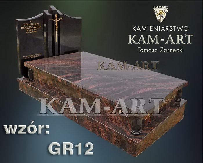 grobowiec granitowy kraków nagrobek na piwnicę w Krakowie gr12
