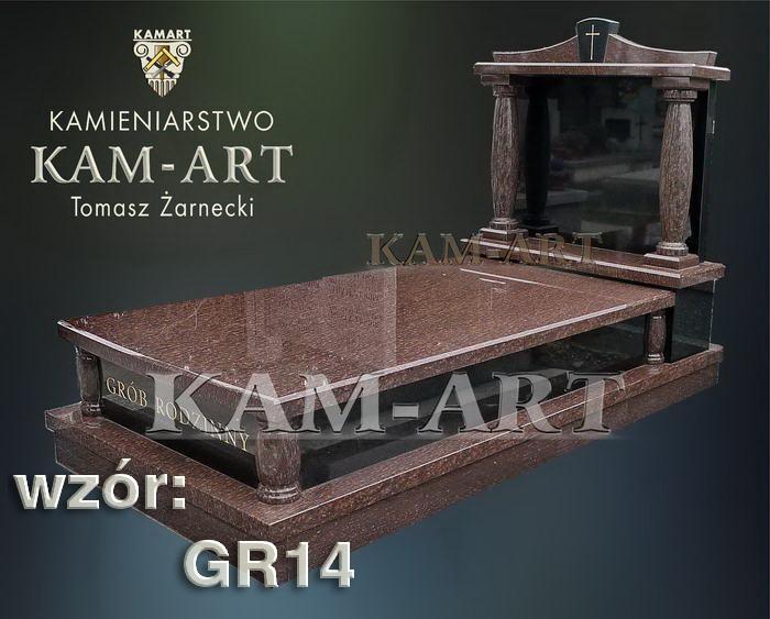 grobowiec granitowy kraków nagrobek na piwnicę w Krakowie 14