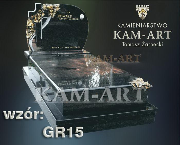 grobowiec granitowy kraków nagrobek na piwnicę w Krakowie 15
