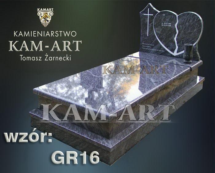 grobowiec granitowy kraków nagrobek na piwnicę w Krakowie 16