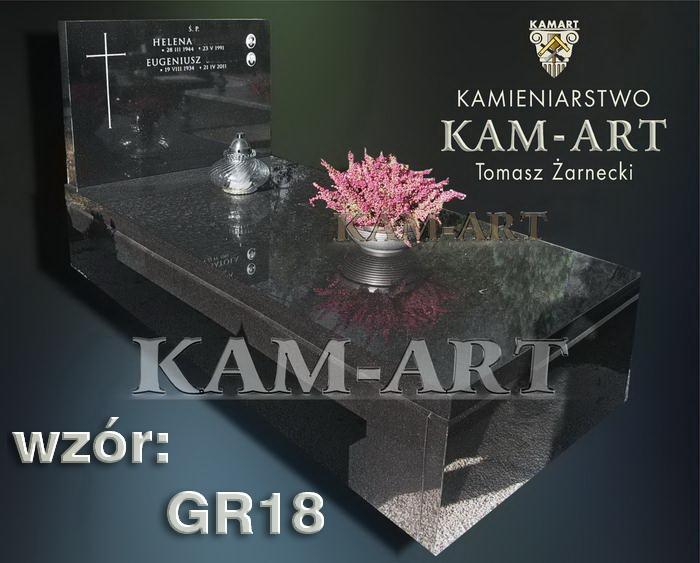 grobowiec granitowy kraków nagrobek na piwnicę w Krakowie 18