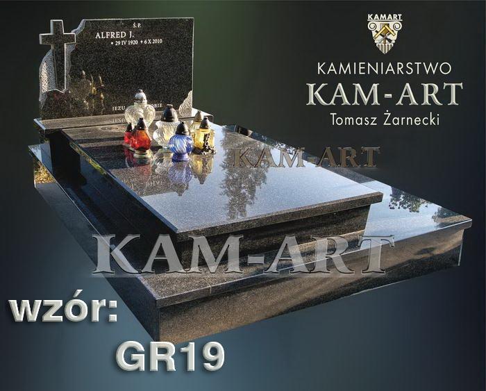 grobowiec granitowy kraków nagrobek na piwnicę w Krakowie 19