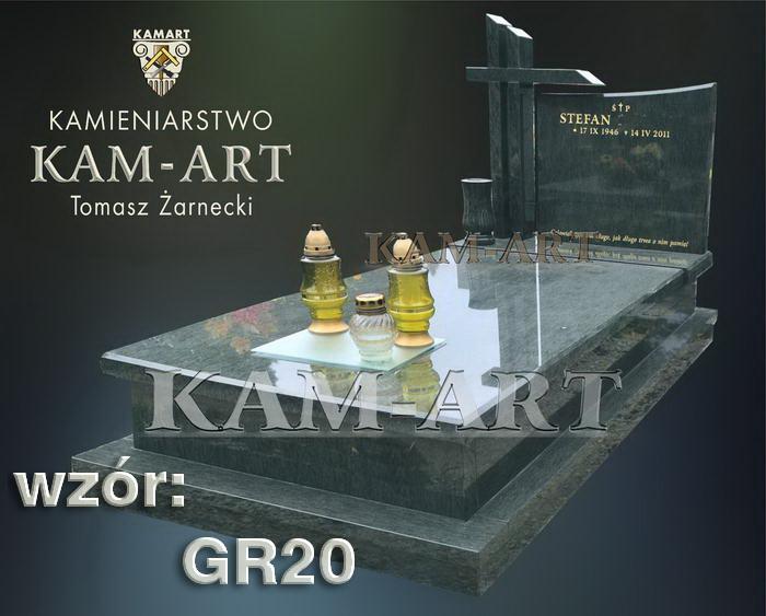grobowiec granitowy kraków nagrobek na piwnicę w Krakowie 20