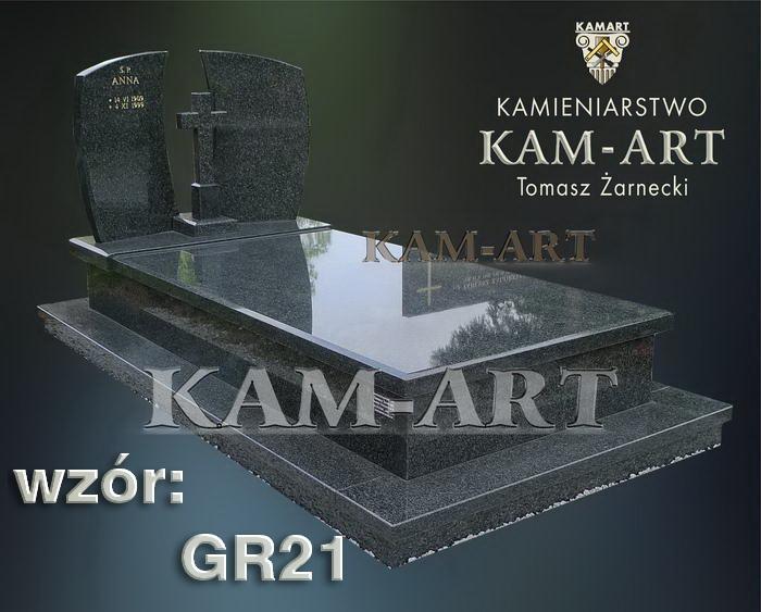 grobowiec granitowy kraków nagrobek na piwnicę w Krakowie 21