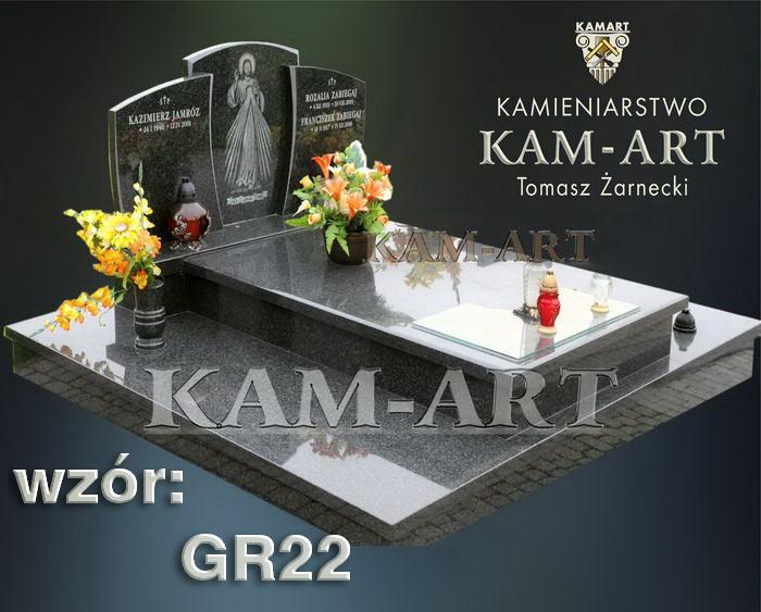 grobowiec granitowy kraków nagrobek na piwnicę w Krakowie 22