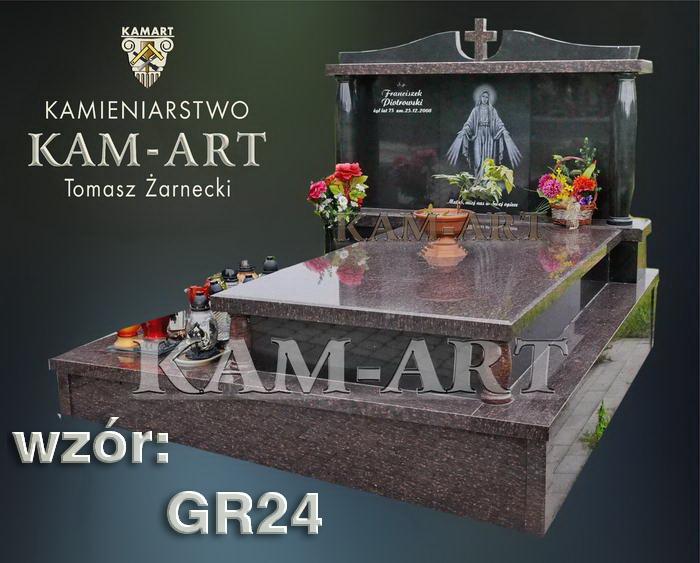 grobowiec granitowy kraków nagrobek na piwnicę w Krakowie 24