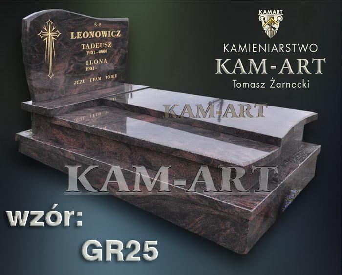 grobowiec granitowy kraków nagrobek na piwnicę w Krakowie 25