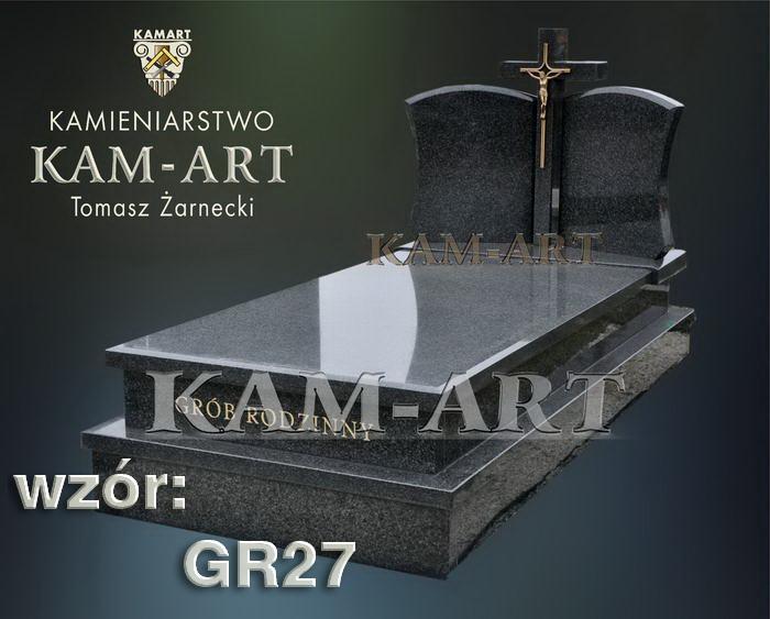 grobowiec granitowy kraków nagrobek na piwnicę w Krakowie 27