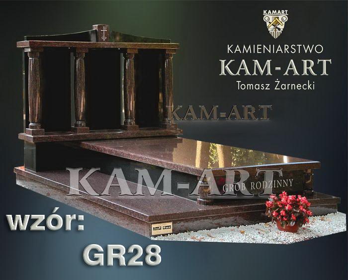 grobowiec granitowy kraków nagrobek na piwnicę w Krakowie 28