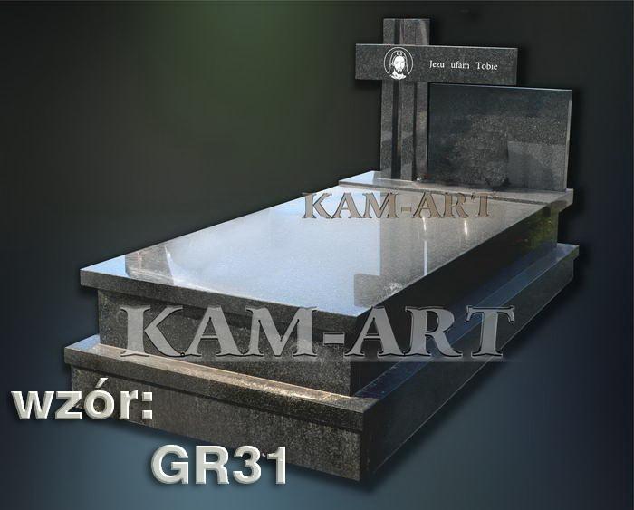 grobowiec granitowy kraków nagrobek na piwnicę w Krakowie 23