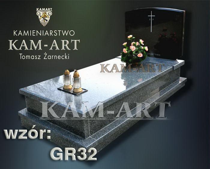 grobowiec granitowy kraków nagrobek na piwnicę w Krakowie 32