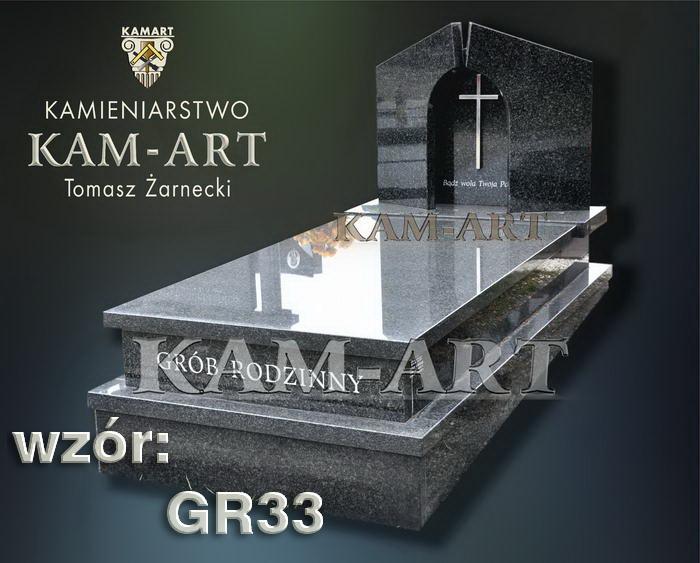grobowiec granitowy kraków nagrobek na piwnicę w Krakowie 33