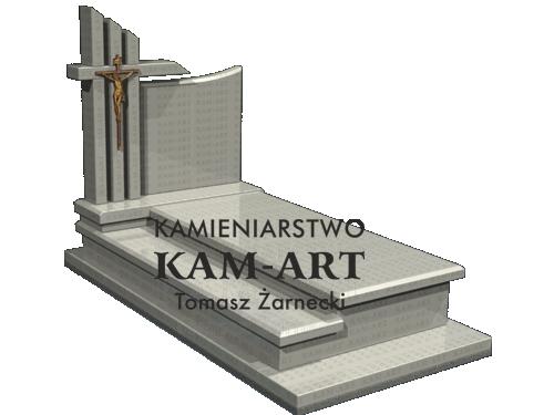 wzór nagrobka granitowego z Krakowa