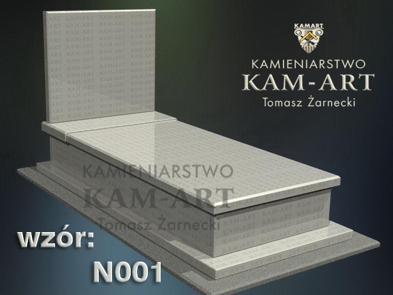 wzór nagrobka granitowego 1 kamieniarstwo Kraków