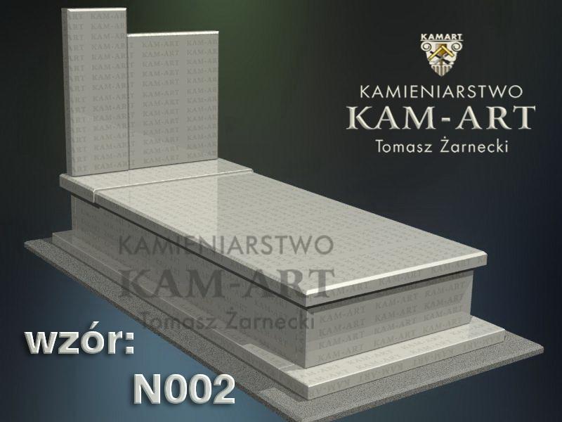 wzór nagrobka granitowego 2 kamieniarstwo Kraków