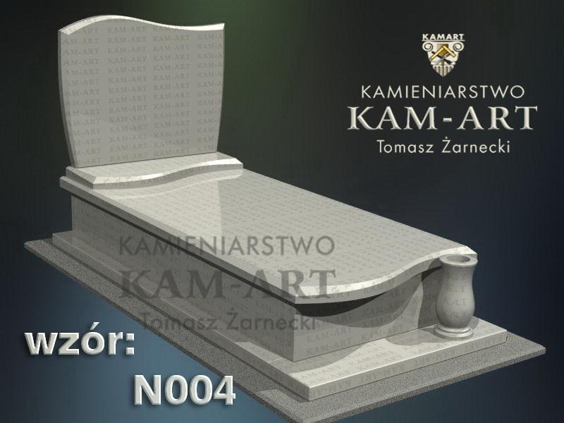 wzór nagrobka granitowego kamieniarstwo Kraków 4