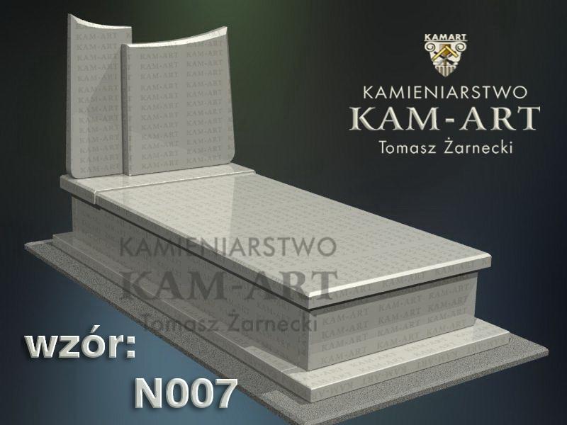 wzór nagrobka granitowego kamieniarstwo Kraków 7