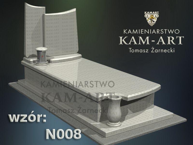 wzór nagrobka granitowego kamieniarstwo Kraków 8