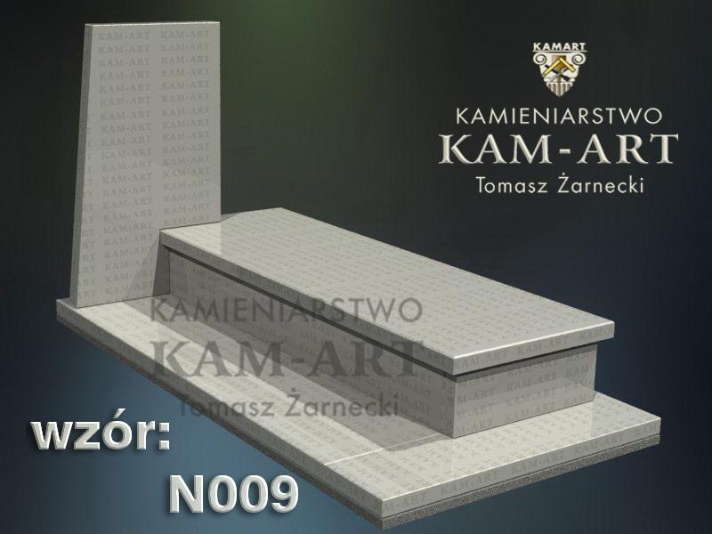 wzór nagrobka granitowego kamieniarstwo Kraków 9