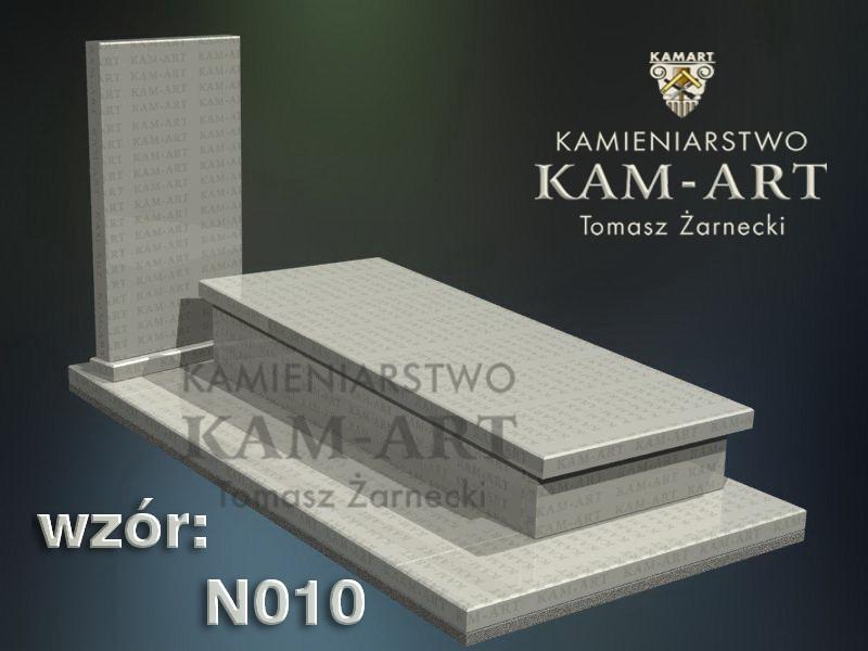 wzór nagrobka granitowego kamieniarstwo Kraków 10