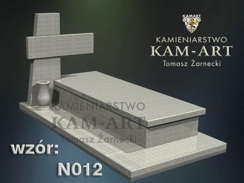 wzór nagrobka granitowego kamieniarstwo Kraków 12