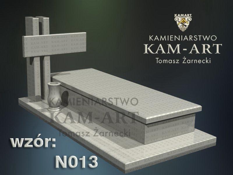 wzór nagrobka granitowego kamieniarstwo Kraków 13