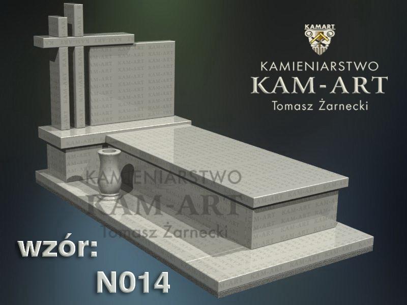 wzór nagrobka granitowego kamieniarstwo Kraków 14