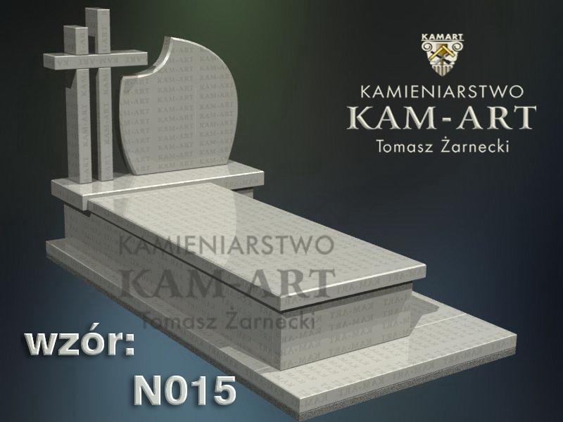 wzór nagrobka granitowego kamieniarstwo Kraków 15