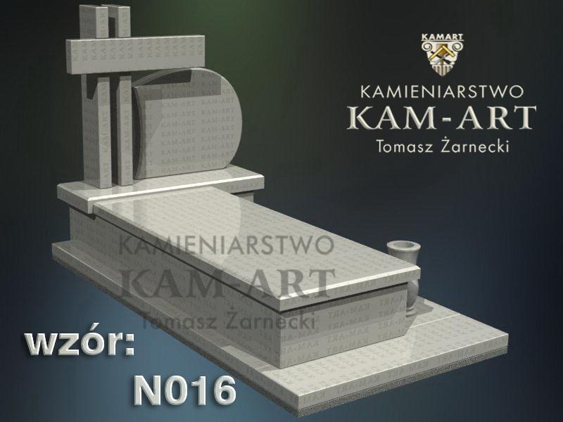 wzór nagrobka granitowego kamieniarstwo Kraków 16