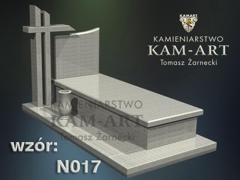 wzór nagrobka granitowego kamieniarstwo Kraków 17
