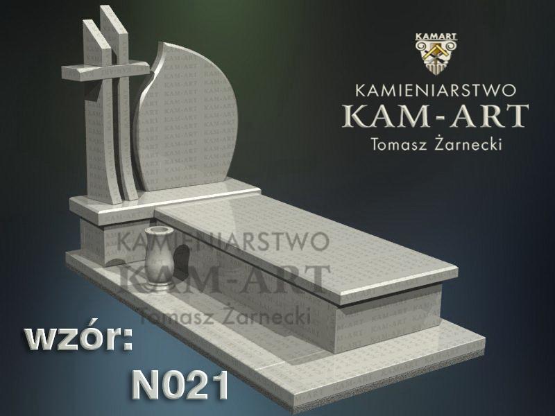 wzór nagrobka granitowego kamieniarstwo Kraków 21