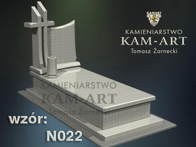 wzór nagrobka granitowego kamieniarstwo Kraków 22