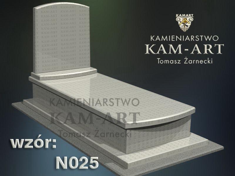 wzór nagrobka granitowego kamieniarstwo Kraków 25