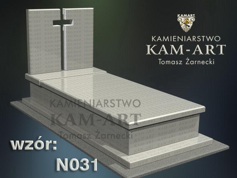 wzór nagrobka granitowego kamieniarstwo Kraków 31