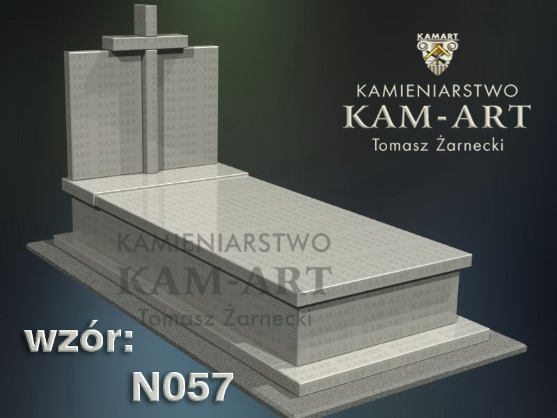 wzór-nagrobka-granitowego-kamieniarstwo-Kraków-57