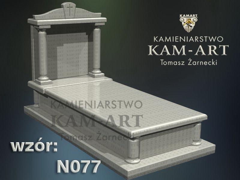 wzór-nagrobka-granitowego-kamieniarstwo-Kraków-77