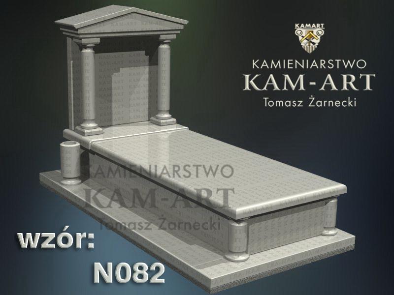 wzór-nagrobka-granitowego-kamieniarstwo-Kraków-82