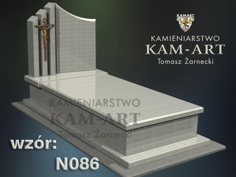 wzór-nagrobka-granitowego-kamieniarstwo-Kraków-86