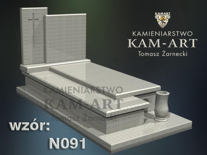 wzór-nagrobka-granitowego-kamieniarstwo-Kraków-91